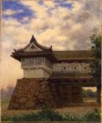 高木背水《佐賀城鯱の門》