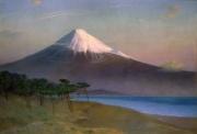 岡田三郎助《富士山》