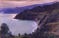 岡田三郎助 《伊豆山風景》1935年、佐賀県立美術館蔵