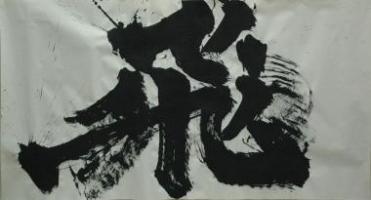 「飛翔」金澤翔子
