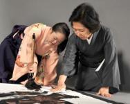 金澤翔子、金沢泰子(母)