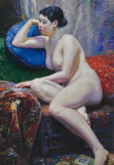 岡田三郎助 裸婦ジグソーパズル画像