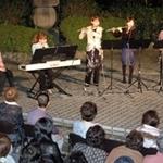 博物館の小さな森で14回目のあらかしコンサートを開きました♪