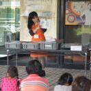 夏休みこどもミュージアム2014体験講座「化石クリーニング」を開催しました