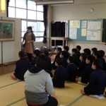 【ミュージアム・キャラバン隊】仁比山小学校・武雄北中学校にお邪魔しました