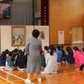 入野小学校に、ミュージアム・キャラバン隊がおじゃましました!