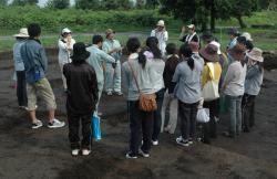 吉野ヶ里遺跡発掘調査体験実習