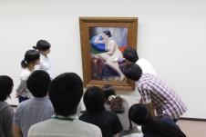絵画取扱い実習