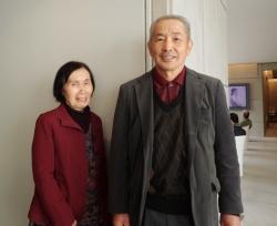 10万人目の観覧者となった松本様ご夫妻