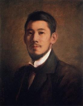 岡田三郎助《自画像》明治32(1899)年、油彩・画布、館蔵.jpg