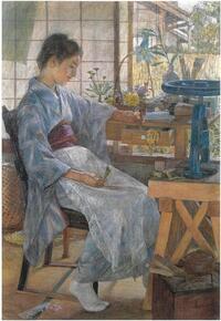 藤島武二《造花》1901年(明治34)、東京藝術大学蔵.jpg