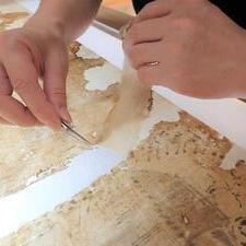 修理報告「重要文化財 東妙寺幷妙法寺境内絵図」展