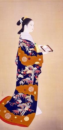 立石春美《伽羅》昭和20年代か、館蔵