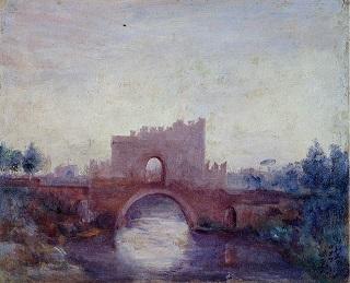 ローマの古橋.画像