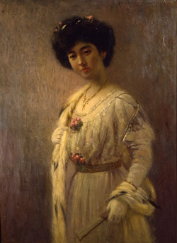高木背水 《婦人肖像》 1915(大正4)年