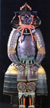 涛・日輪文打出五枚胴具足(宮田勝貞)、館蔵、佐賀県重要文化財