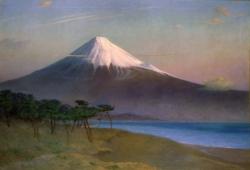 岡田三郎助 《富士山(三保にて)》1920年、佐賀県立美術館蔵