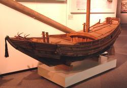 北前型弁才船模型