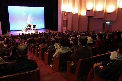 コンサート当日の会場の様子