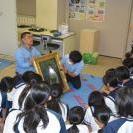 「ホンモノをみよう!岡田三郎助キャラバン隊」を開催しました(2)