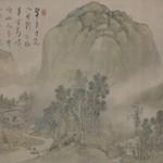 博物館で山水画を展示しています