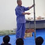夏休みこどもミュージアム2017「竹でオモチャづくり」をおこないました!(1)