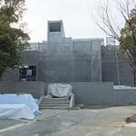 岡田三郎助アトリエの移設工事が進んでいます。