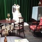 「岡田三郎助アトリエ」にはウエディングドレスがよく似合います
