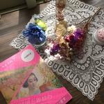 博物館受付で 「岡田三郎助の花物語展」の図録を販売しています!