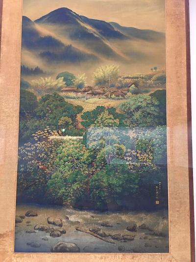 野口謙次郎《風景》1927(昭和2)年、館蔵
