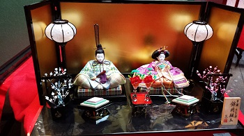 佐賀錦雛人形写真2画像
