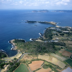 島津義弘陣跡と波戸岬周辺
