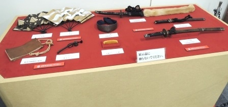 小道具の展示