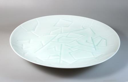 鉄絵草文碗(御本茶碗)