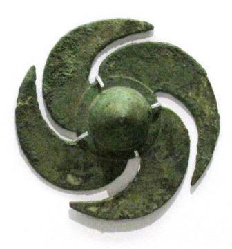 韓国・大成洞古墳群出土 巴形銅器