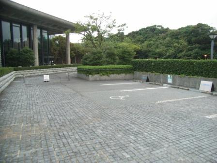 身障者用駐車場の写真