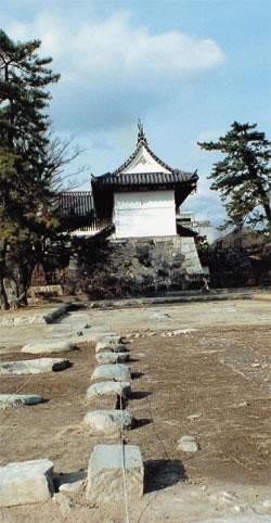 佐賀城本丸跡の発掘調査